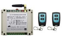 New DC12V 24V 36V 48V 10A 2CH Radio Controller RF Wireless Relay Remote Control Switch 315