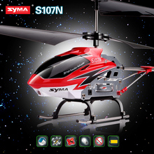 Free shipping 2015 Newest RC Helicopter SYMA S107N Gyro Mini Indoor Co-Axial Radio Control Toys 3-Channel Alloy Flashing Drone