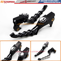 Motorcycle CNC Skull Brake Clutch Levers For Harley Sportster XR XL 1200 883 Forty Eight 2014 2015 2016 Black