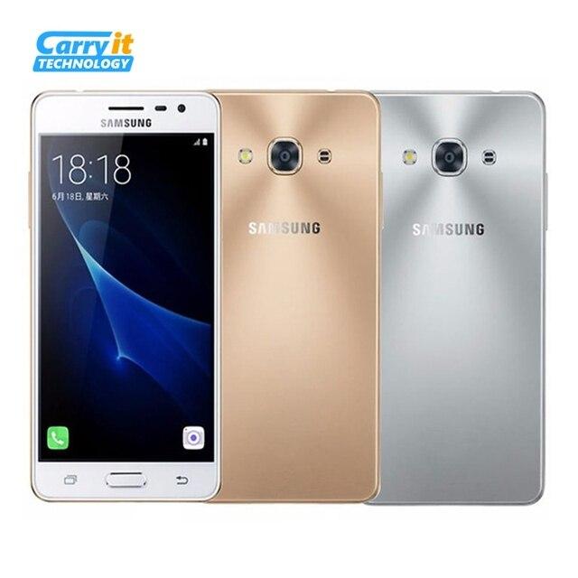 "Оригинальный Samsung Galaxy J3 Pro J3110 5.0 ""дюймов 2 ГБ RAM 16 ГБ ROM Quad Core 2600 мАч Dual Sim FDD LTE Смартфон"