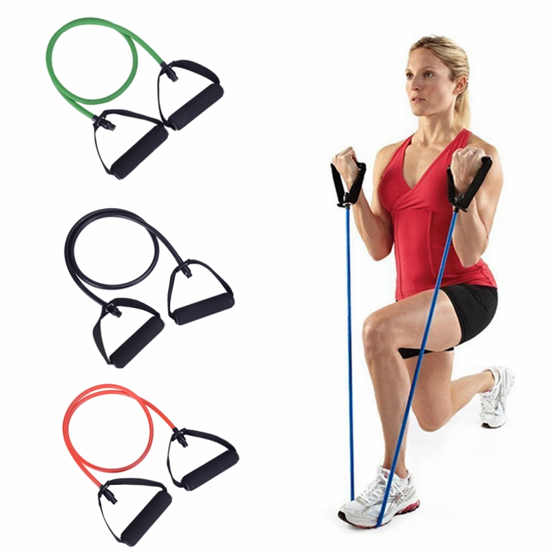 Sport Fitness Resistance Bands Yoga Pull Rope Exercise Tubes Elastic Bands For Yoga Pilates Expander Trainning Workout Equipment