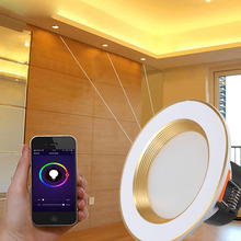 Wi-Fi умный Светодиодный точечный светильник RGB голос Управление автоматизации для дома номер- M25