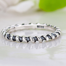 HOMOD Silver Color 4mm Rotate Smooth Surface Brand Finger Rings Women Wedding Jewelry 5 Size Wholesale