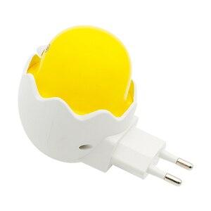 Image 3 - ANBLUB Lámpara LED de pato amarillo con Sensor de Control de luz nocturna, lámpara de pared con Control remoto para el hogar, dormitorio, niños, regalo, enchufe de la UE