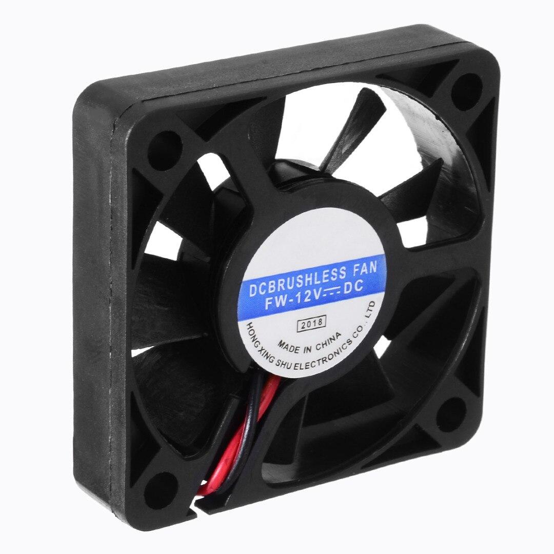 50mm 12V CPU Cooler Radiator Mini Heat Sink Silent Cooling Fan 2.5Pin 3Pin Computer Case PC CPU Cooling Cooler Heatsink Fan