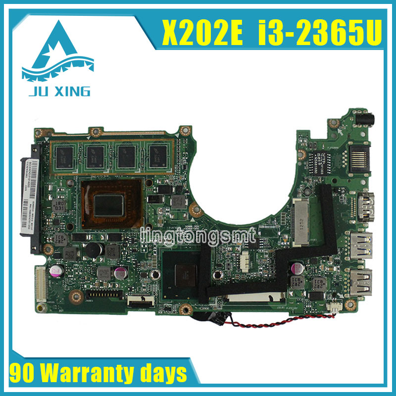 for ASUS X202E Q200E Laptop motherboard X201E X202E S200E i3-2365U 2G USB3.0 REV2.0 HD Graphics Integrated 100% tested x202e q200e s200e x201e laptop motherboard mainboard for asus with i3 2365cpu 4g ddr3 1333 mhz tested