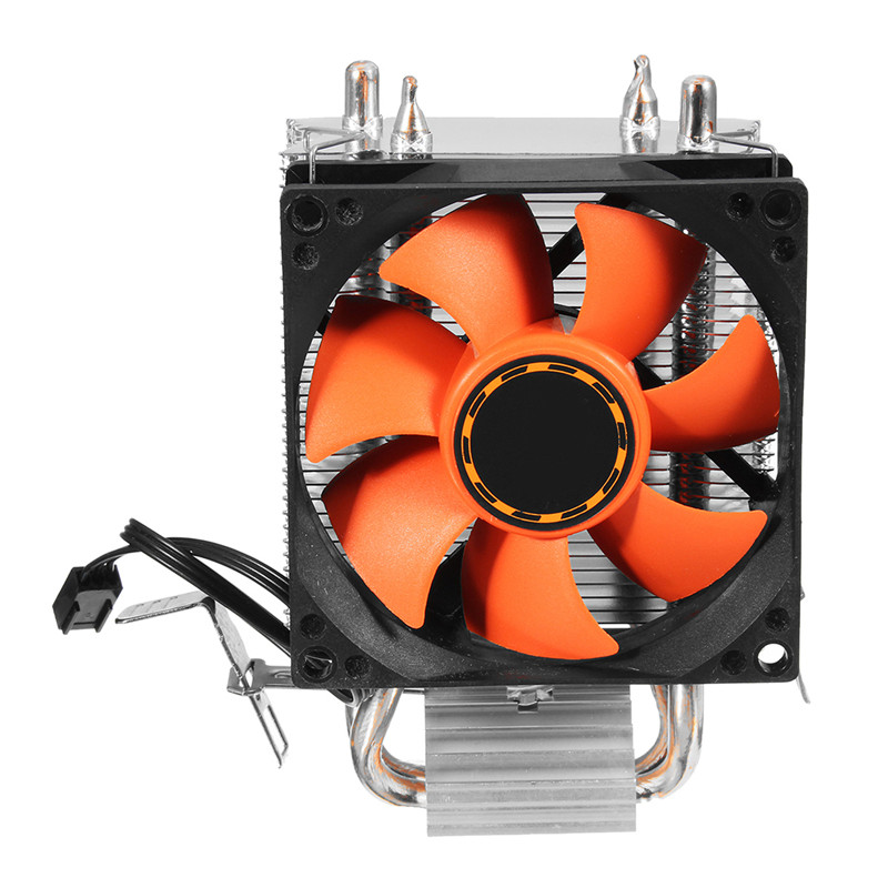 8cm CPU Cooler Fan Silent Heatsink Computer CPU Cooling Radiator For LGA775/1156/1155 AMD/AMD2/AM2+AM3/FM1 three cpu cooler fan 4 copper pipe cooling fan red led aluminum heatsink for intel lga775 1156 1155 amd am2 am2 am3 ed