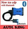 2017 Venta! último Software 2015.1 activación gratis! con Bluetooth TCS CDP PRO nuevo vci para autos camiones obd herramienta de la exploración envío gratis