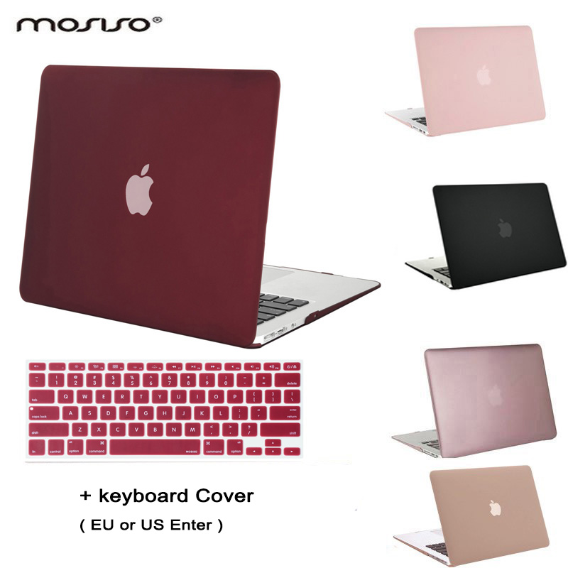 MOSISO Clear Matte Mac Air 13 Plastic Case Laptop Shell Hard Cover for Macbook Air 11.6 13.3 inch Notebook Sleeve+Keyboard Cover koh i noor маркер для доски цвет красный