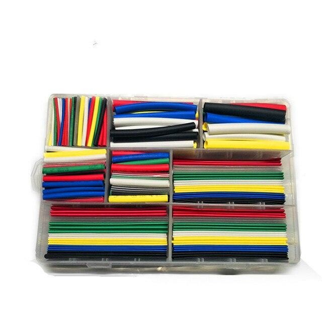 385 Stücke in 1 box enthalten kunststoff box Auto Elektrische Kabel ...