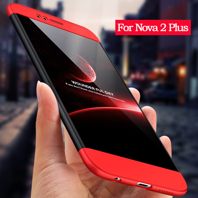 sports shoes d757a e14ce US $2.79 25% OFF Original Ultra Slim Cases For Huawei Nova 2 Plus Case  Fashion 360 Full Protection Hard Plastic PC Cover For Huawei Nova 2Plus-in  ...