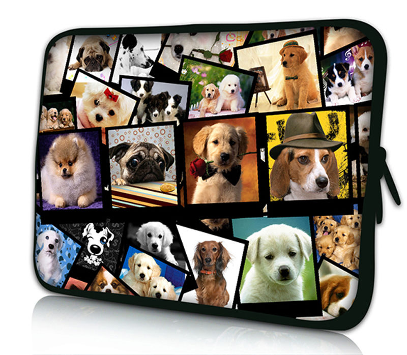 Dogs Laptop Sleeve for Xiaomi Air 13.3 12.5 11 12 13 inch Laptop Bag for Women men Tablet Bags Case for Macbook air pro retina