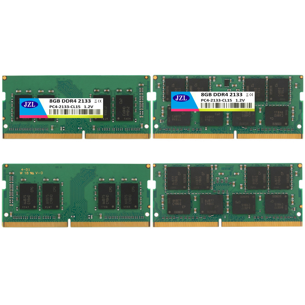 JZL Ordinateur Portable Sodimm PC4-17000 DDR4 2133 MHz 8 GB PC4 17000 DDR 4 2133 MHz LC15 1.2 V 260-PIN Module de Mémoire Ram pour Ordinateur Portable/Notebook - 2