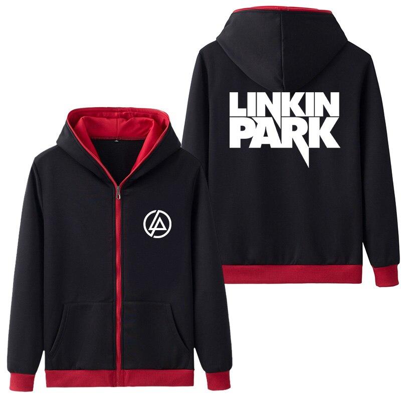 Super Cool Linkin Park Logo Hooded Hoodie Coat Hoodies & Sweatshirts Hoody Outer Wear Top Clothing