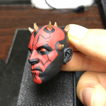 Supernatural Star Wars Solider Darth Maul Head Carving Head Model 1/6 Male Head Sculpt Fit 12 Action Figure Body	1/6 Scale BJD 1 6 scale ancient general head sculpt zhao yun head model fit 12 solider doll for 12 man action figure toys