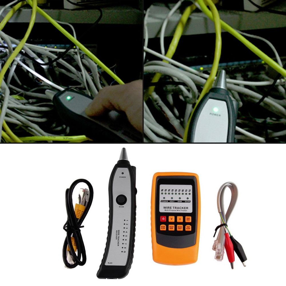 Buy Cable Tester Tracker Phone Line Network Finder Wiring Aeproduct
