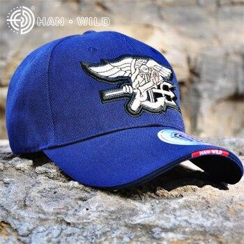 Seal de la Marina ejército tapas táctico gorras de béisbol de los hombres  de algodón bordado de Paintball sombreros militares Airsoft combate  ejército ... 19753d68d8d