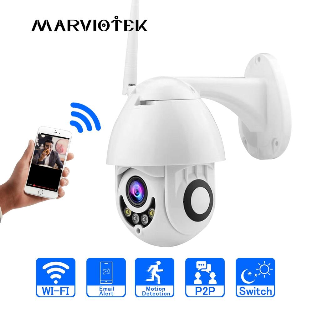 WIFI IP Caméra Extérieure PTZ IP Caméra 1080 p Vitesse Dôme CCTV caméras de sécurité IP Caméra WIFI Extérieur 2MP IR Accueil surveilance P2P