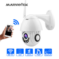WIFI IP Camera Outdoor PTZ IP Camera 1080p Speed Dome CCTV Security Cameras IP Camera WIFI Exterior 2MP IR Home Surveilance P2P