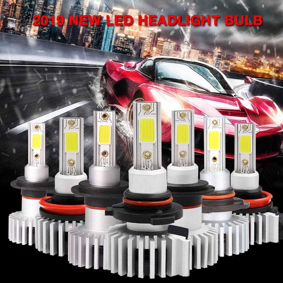 Image 2 - RACBOX 2pcs H4 H1 H3 H7 H11 H8 H9 9005 HB3 9006 HB4 Led Headlight Bulbs 72W 8000LM Car Styling 3000K 6000K 10000K Led Automobile-in Car Headlight Bulbs(LED) from Automobiles & Motorcycles