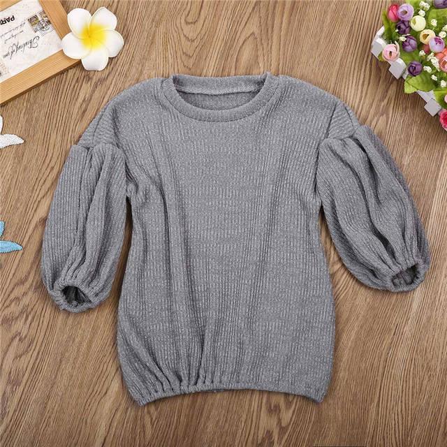 107f04876c54 Online Shop pudcooc Brands 5 colors Baby Girls Sweaters Winter 2017 ...