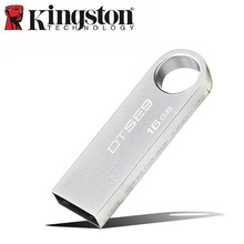 Kingston Usb Flash Drive 16gb pendrive Reminiscence Stick usb Key DTSE9 Steel Memoria stick Custom-made Brand cle usb Gadget 16GB U Disk
