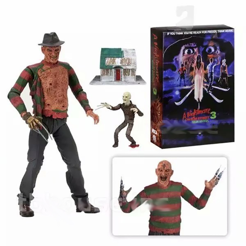 NECA A Nightmare On Elm Street Freddy Krueger Freddy's Nightmares PVC Action Figure Collectible Model Toy
