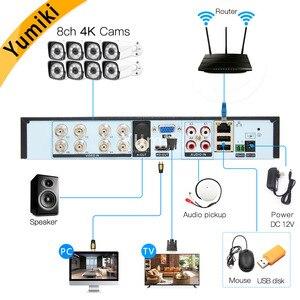 Image 2 - H.265+/H.264 8ch AHD DVR 4K CCTV 8Ch 4K/5MP Hybrid Security DVR Recorder Camera Onvif Coxial Control P2P XVI/AHD/TVI/CVI/CVBS/IP