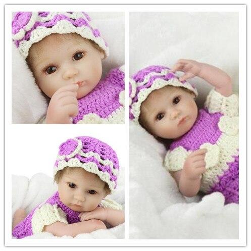18 inch silicone reborn baby dolls Reborn Baby Doll Realistic Soft silicone Reborn baby Girl Baby Dolls Reborn Doll Toys warkings reborn