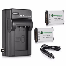 Powerextra 2pcs NP-BX1 Replaceemnt 3.7v Battery + Battery Charger For Sony DSC RX100 II RX1R HX300 HX50V WX300 Camera Batteries
