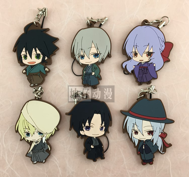 Seraph Of The End Owari No Seraph Anime Yuichiro Hyakuya Hiiragi Shinoa Hiiragi Shinya Kawaii Japanese Rubber Keychain цена 2017