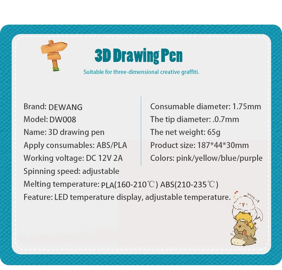 DEWANG 3d pen 5