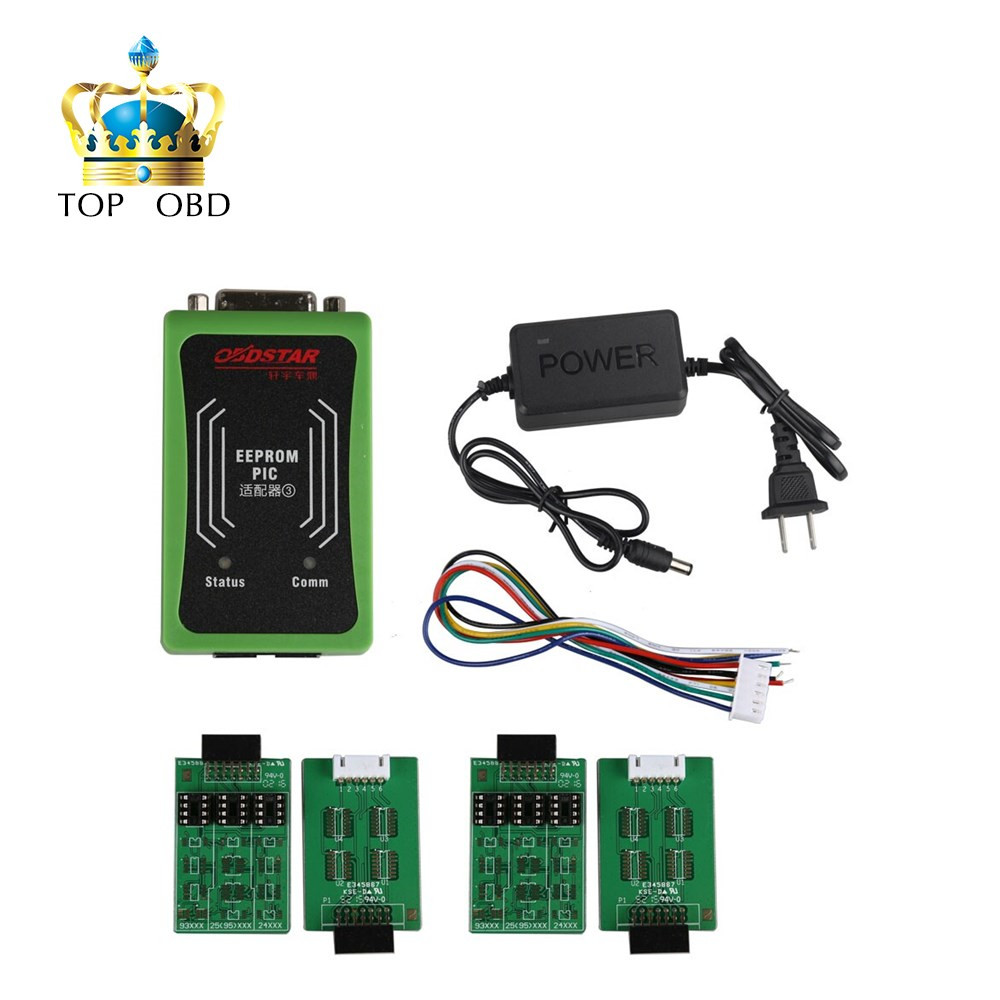 ФОТО OBDSTAR PIC and EEPROM 2-in-1 adapter for X-100 PRO Auto Key Programmer ECU Chip Tunning