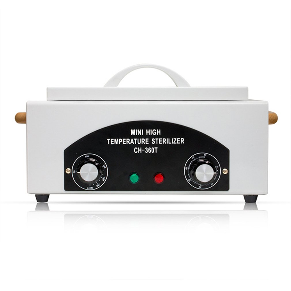 Professional High Temperature Sterilizer Box Nail Tool Sterilizing Dry Tweezers Scissors Nail Disinfection Cabinet Equipment home appliances portable sterilizing nail art equipment high temperature sterilizer disinfection cabinet for nail art tool