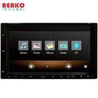 RM-CW 9301 7 inç Araba Radyo Ses Stereo Dokunmatik Ekran Bluetooth Araç MP3 MP4 Player 1080 P Destek Direksiyon Kontrolü kamera