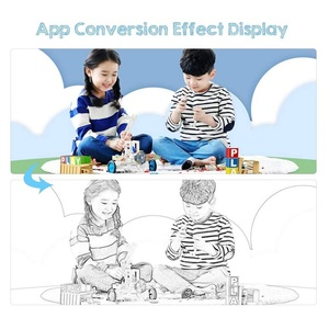 Image 5 - IlluminatedกระจกStencilสะท้อนแสงกล่องกราฟิกแท็บเล็ตTracerกระดานวาดรูปเขียนPadโทรศัพท์โครงการDimming