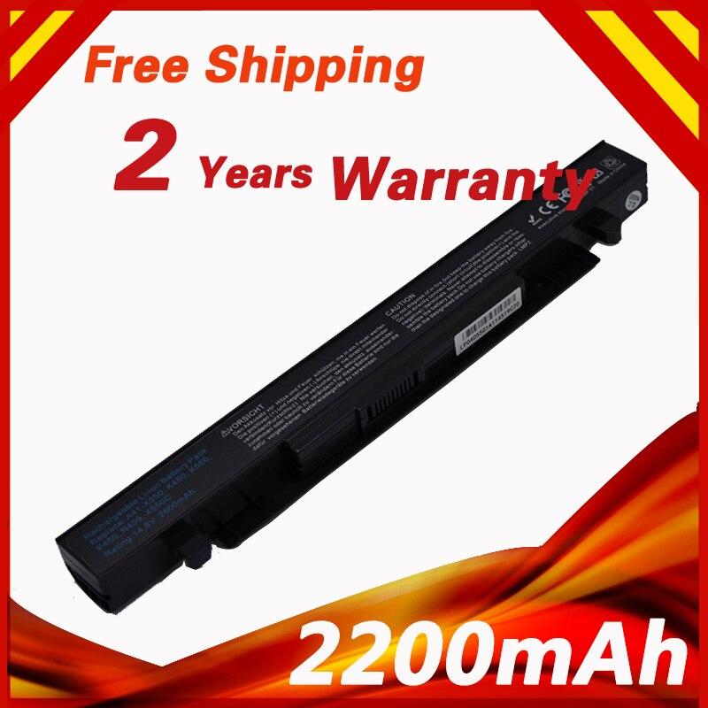 цена на 4 cells 14.8V Laptop Battery For ASUS A41-X550 A41-X550A A450 F450 A550 F552 K450 K550 P450 P550 R409 R510 X450 X550 X550C R510C