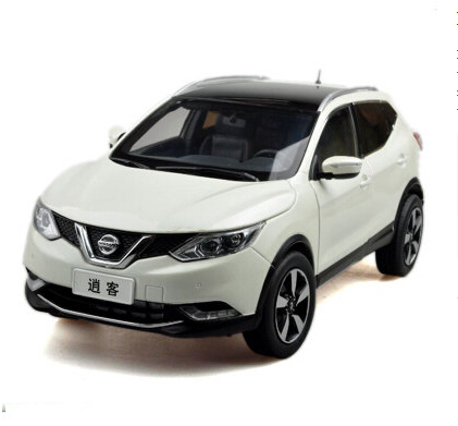 2015 New Nissan QASHQAI origin 1:18 car model alloy white luxury SUV kids toy collection Japan discast