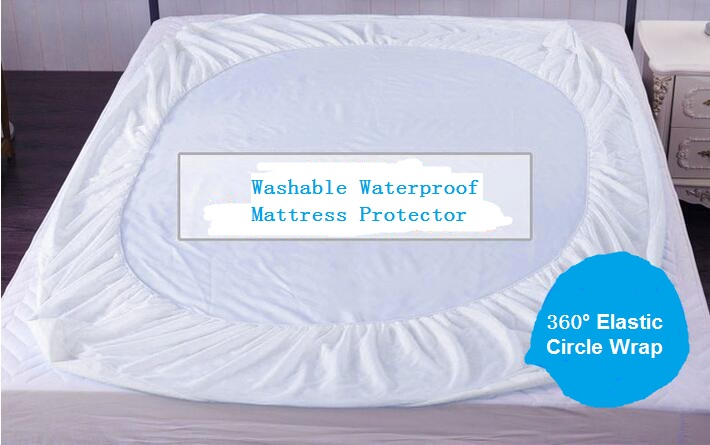70gsm 100 Polyester Twin Full Queen King Size Breathable Soft Waterproof Mattress Cover Protector At Price In Covers Grippers