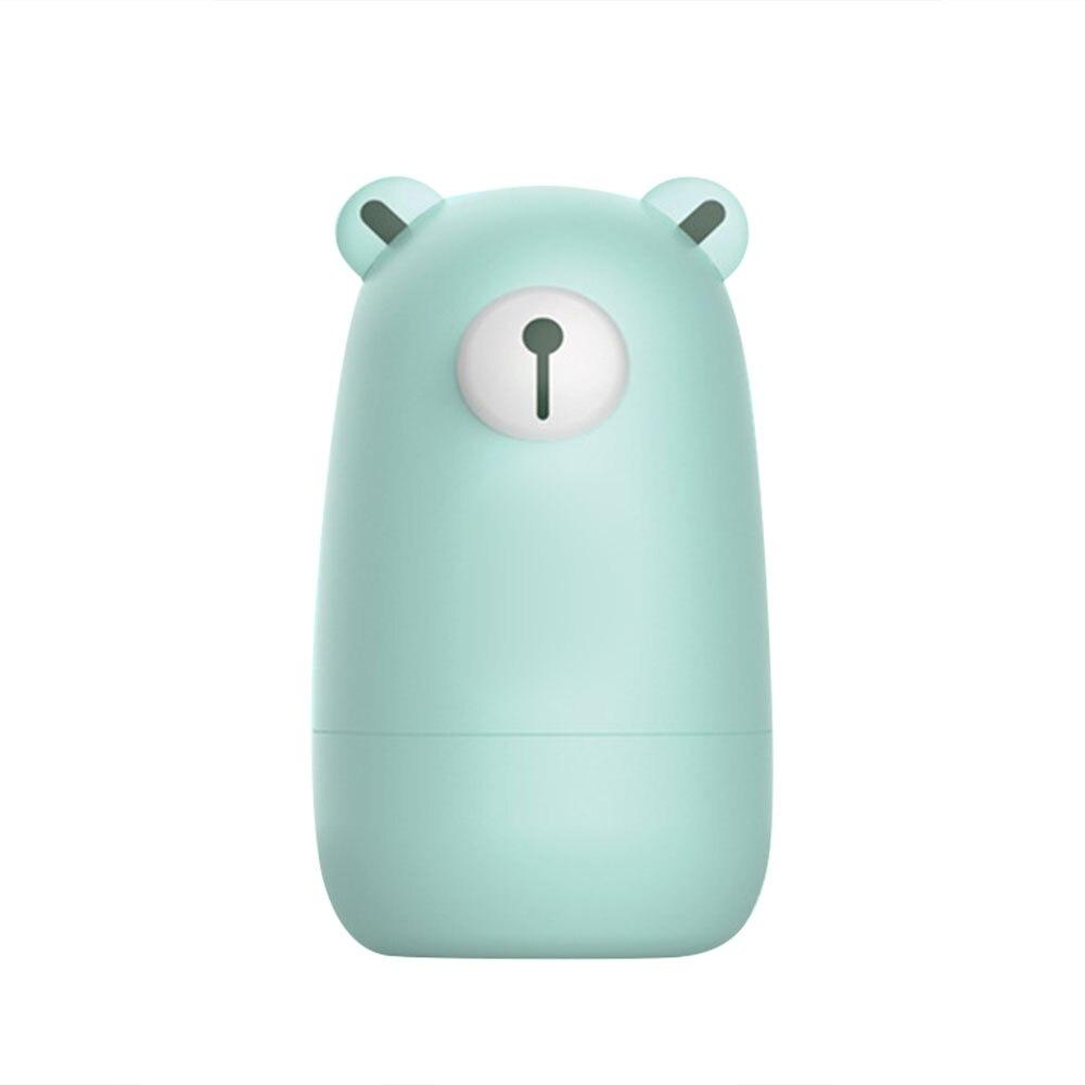Полезные кусачки для ногтей медведь Ванна детский маникюрный набор для красоты Прямая - Цвет: green