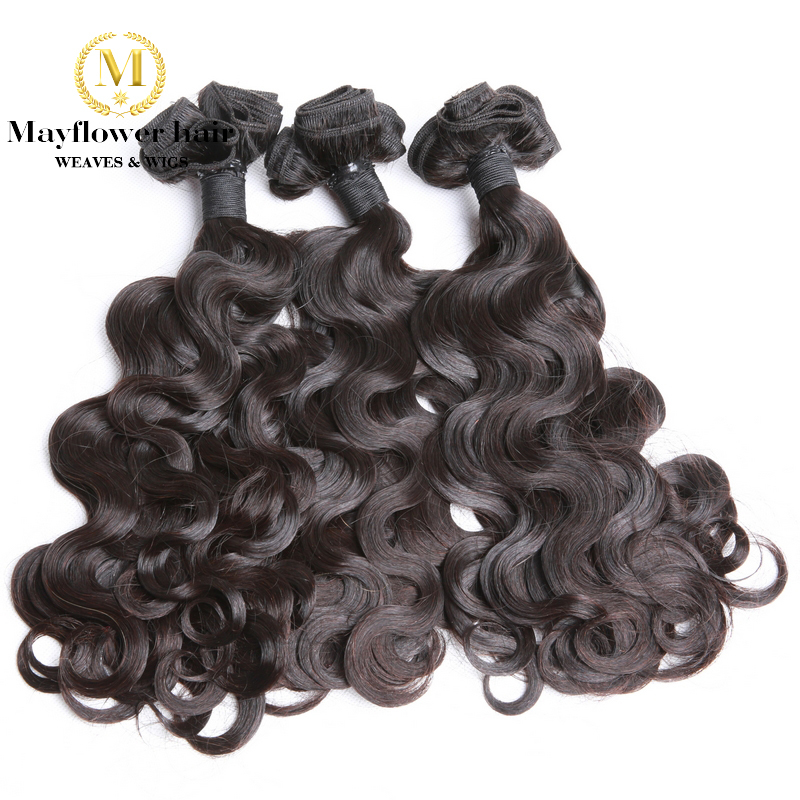 Mayflower 1/2/3/4 Bundles Funmi Hair Small Body Wave 10-18
