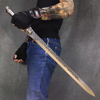 High manganese steel integrated sword Family furnishing exquisite handicrafts to deliver gifts 71cm home decor