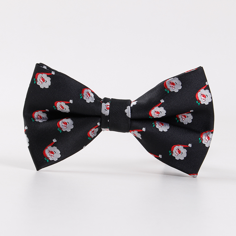 Wholesale New Arrival Polyester Mens Bow Tie Brand Christmas Tree Tie Bowties Business Shirts Snowflake Bowknot Bow Tie Cravats