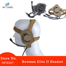 Z tactical military Bowman Elite II Headset Earphone for Z-TAC bowman Unilateral headphone Airsoft Accessories Z027(China)