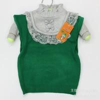 бесплатная доставка новое поступление hign качество низкая цена девушки свитер KR цветок с kruger стоит свитер