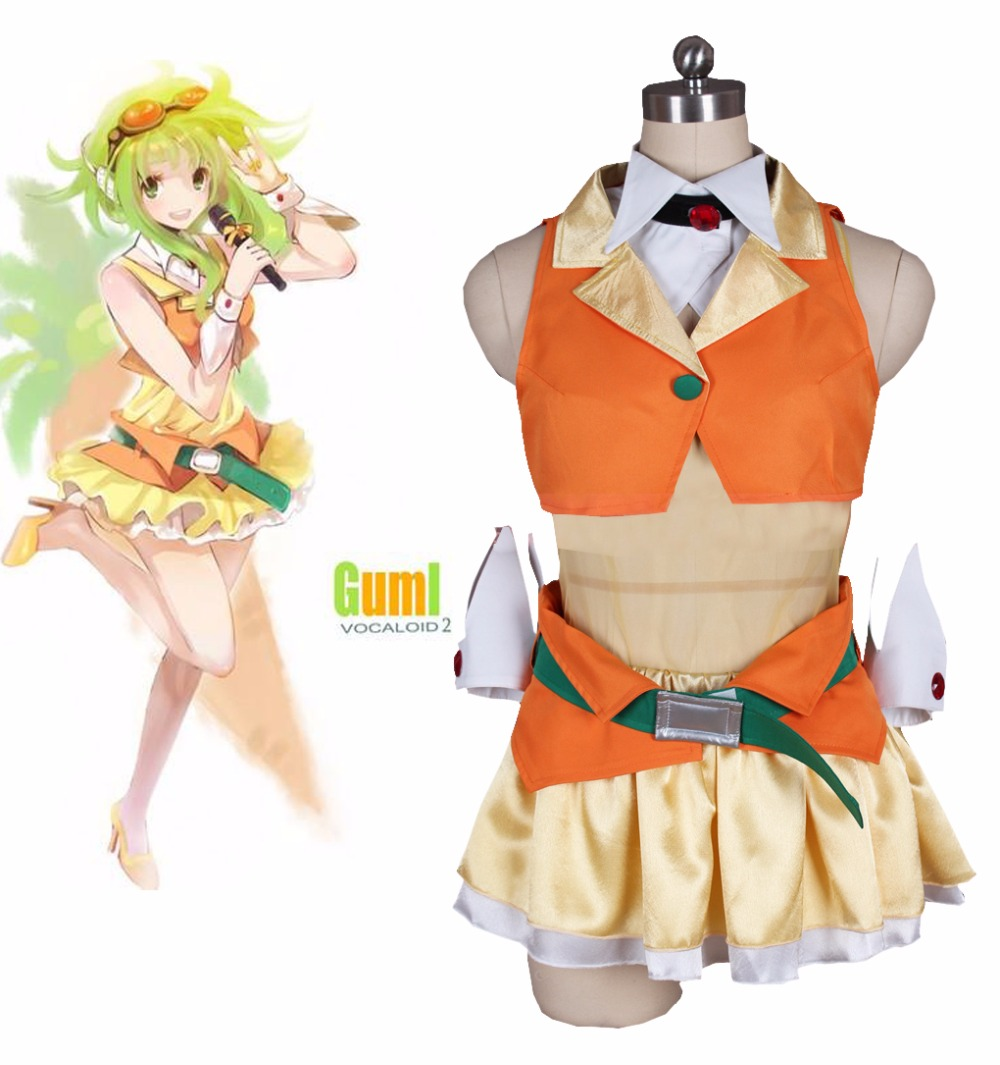 free-shipping-font-b-vocaloid-b-font-gumi-yellow-singing-uniform-dress-anime-cosplay-costume