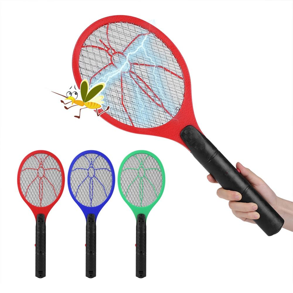 Anti Mosquito Swatter Cordless Battery Power Mosquito Killer Electric Fly Mosquito Swatter Bug Zapper Racket Insects Killer