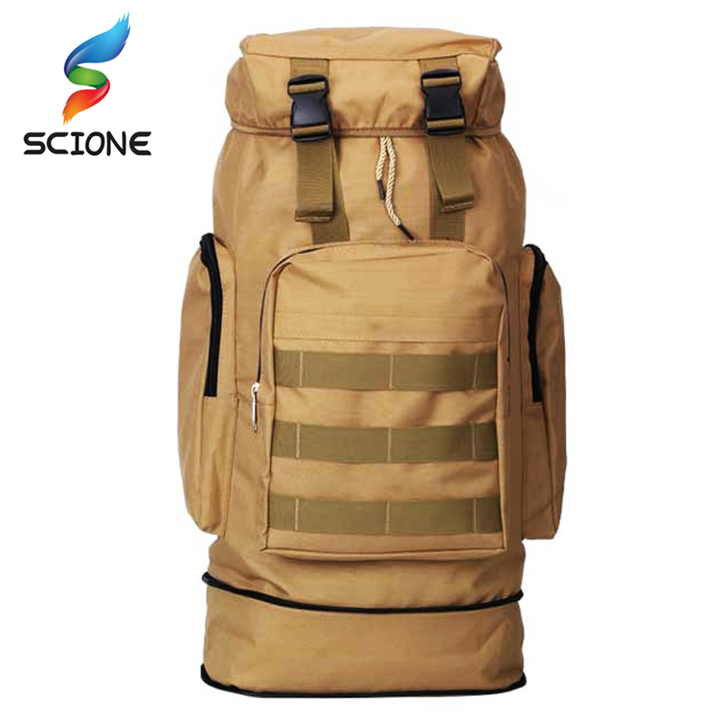 Hot Army Men Women Outdoor Military Tactical Backpack Camping Hiking Rifle Bag Trekking Sport Travel Rucksacks Climbing Bag 65l men outdoor army military tactical bag backpack large size camping hiking rifle bag trekking sport rucksacks climbing bags