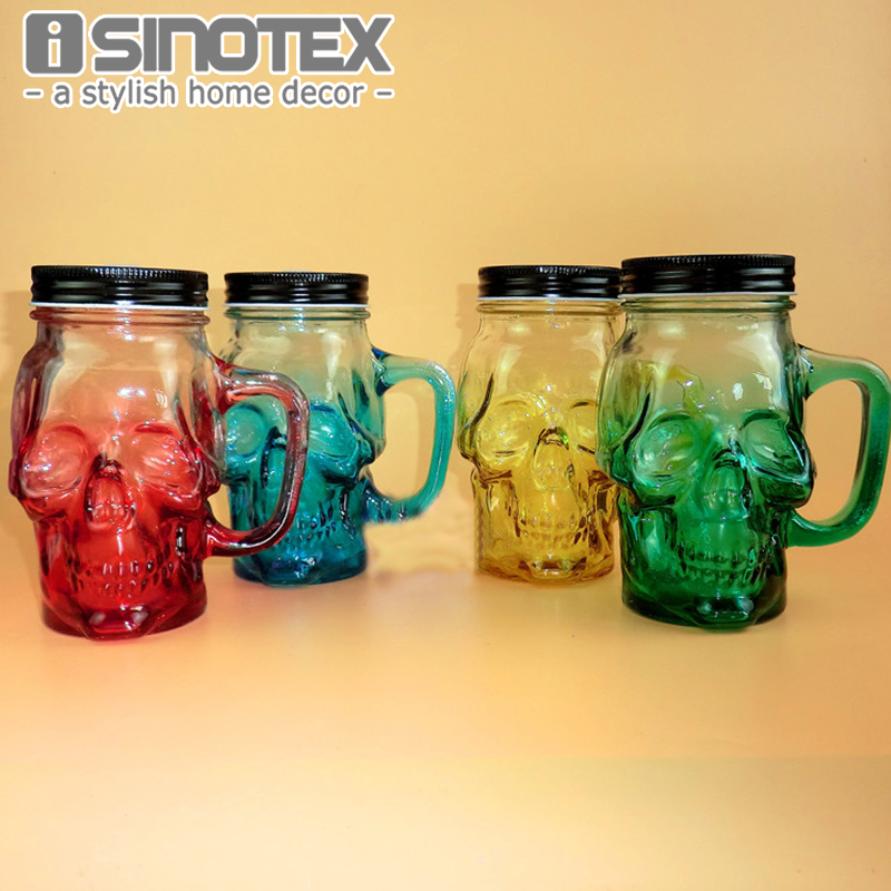 Creative Crystal Skull Vodka Wine Bottle Beer Pirates Glass My Water Bottle Diagnostic tool Accessories
