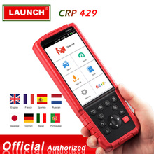 Запуск CRP429 автомобильный диагностический инструмент автоматический сканер все системы диагностики сканирования инструменты EPB IMMO vs MK808/Crp Touch Pro/FX6000